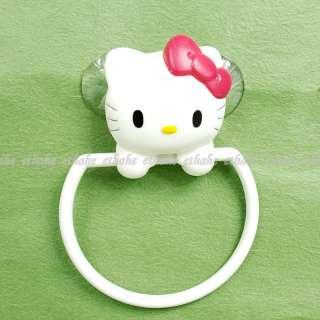 Hello Kitty Bath Towel Rack Hanger Holder White 1H0I