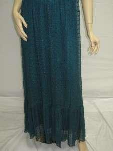 Sue Wong Turquoise C7332 Wedding Dress Beach Dress 10 Designer Day
