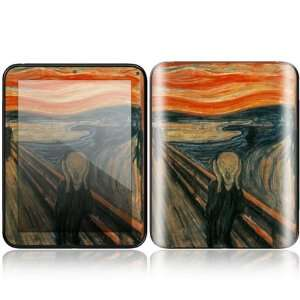 The Scream Design Decorative Skin Cover Decal Sticker for HP TouchPad