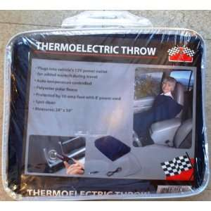 Thermoelectric Throw (automotive electric blanket