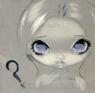Jasmine Becket Griffith ORIGINAL PAINTING Fairy Face 192 big eye art