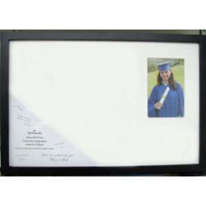 Hallmark Graduation GDF1106 Autograph Frame with Quote
