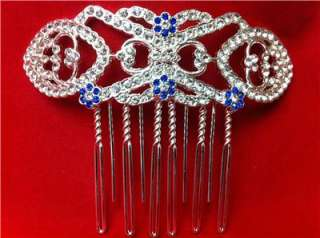 BREAKING DAWN Bellas Bridal Wedding Veil Hair Comb in Velvet Box
