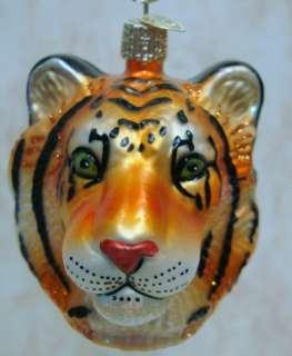 OLD WORLD Tiger ORNAMENT Jungle Cat BENGAL Stripe 12115