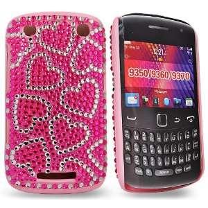 diamond hreats design hard case cover for Blackberry 9360 Electronics
