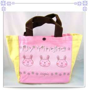 Bento Japan RABBIT Design Lunch Box Set w/Bag & Belt