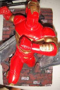 MARVEL ★IRON MAN WALL STATUE SCULPTURE★by TONY CIPRIANO MAQUETTE
