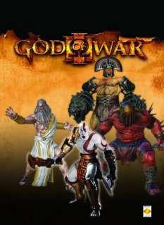 God of War III Series 1 Action Figures Set of 4 NEW