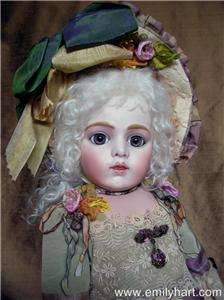 Bru jne 11 Virginia LaVorgna reproduction bisque doll HEAD ONLY by