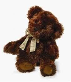 RUSS Teddy Bear Dark Brown called Ellsworth Medium