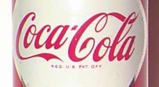 Rare 1956 Coca Cola COKE Test Market Diamond Can Flat Top Can FREE