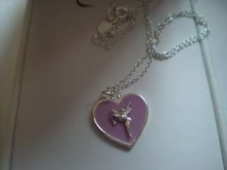 Disney SS Tinkerbell On Pink/Lilac Heart Neck/Couture