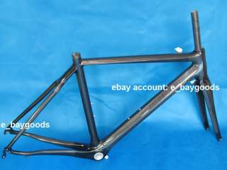 FR303 Brand New Full Carbon 3K Road Bike Bicycle Frame 52cm , Fork