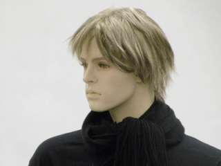 Male Wig Mannequin Head Hair for Mannequin #WG HMW148R