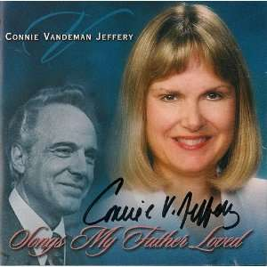 Songs My Father Loved (0643330028650): Connie Vanderman