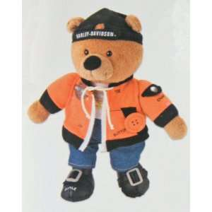 Learn to Dress Harley Davidson Teddy Bear Toys & Games