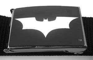 Black DC Comics Licensed Batman Belt & Buckle One Size