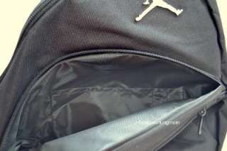 Air Jordan Jumpman Sling Backpack Gym Book Bag Rucksack Mochila Black