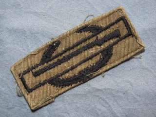 PATCH VIETNAM US ARMY CIB COMBAT INFANTRY BADGE SUBDUED TWILL ORIGINAL