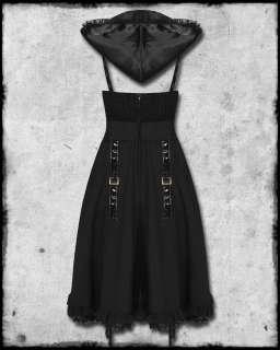 SPIN DOCTOR BLACK VICTORIAN STEAMPUNK GOTH EREBUS DRESS