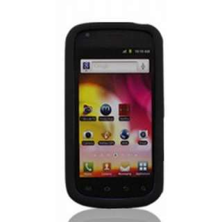 For Samsung Galaxy S Blaze 4G BLACK Rubber Soft Gel Silicone Skin Case