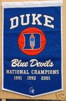 Duke Blue Devils Basketball Champions Dynasty Banner
