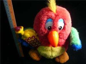 RARE PARROT TALKING AND MOVING DOLL 11 HIGH BY VTECH