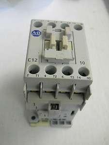 Allen Bradley 100 C12*10 Contactor 100 C12D10 Ser. A 110V
