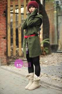 Women Retro bow knot buckle PU leather belt Skinny belt leopard black