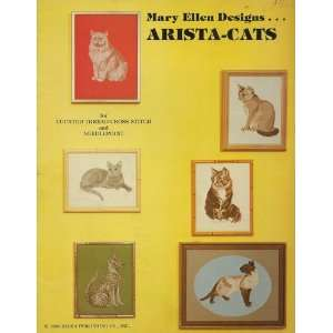 Mary Ellen Designs Arista Cats for Counted Thread Cross