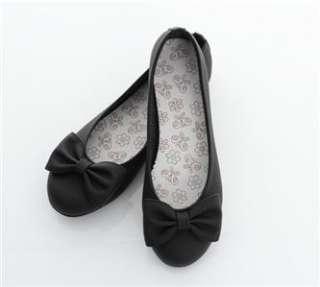 ... Womens Ballet FLATS BOWED BALLERINA Casual Work Shoes ... 110708e8e