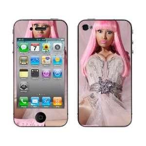 Meestick Nicki Minaj Vinyl Adhesive Decal Skin for iPhone