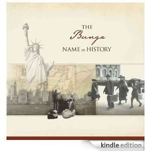 The Bunga Name in History Ancestry  Kindle Store