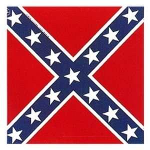 REBEL CONFEDERATE FLAG Southern Biker Bandana Size 21x21 Quality NEW