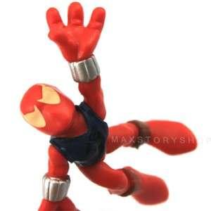 MARVEL SUPER HERO SQUAD SPIDER MAN FIGURE SUPER RARE FW72