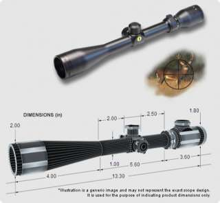 BSA Catseye 3 10x44 Rifle Scope   FM310X44/2
