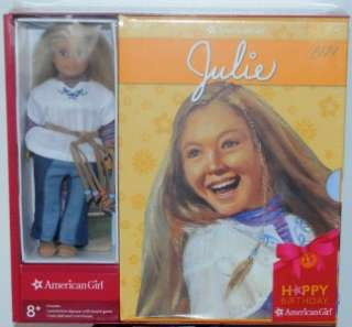 American Girl Julie 6 Mini Doll 6 Book Set Happy 25th Birthday NIP