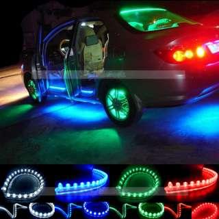 Strip Car Auto Waterproof Flexible Grill Light Lamp Bulb 12V