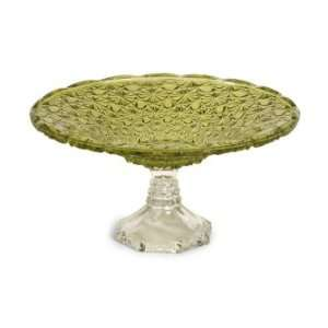 Tate Glass Pedestal Cake Plate Home & Kitchen