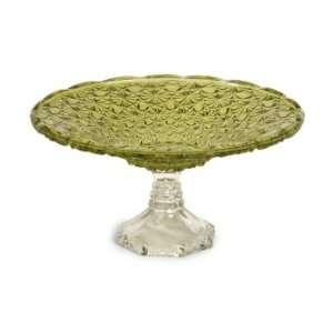 Tate Glass Pedestal Cake Plate