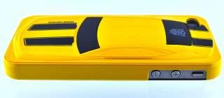 Gift iPhone 4 4s Cool Transformer Autobot Bumblebee Camaro Yellow Case