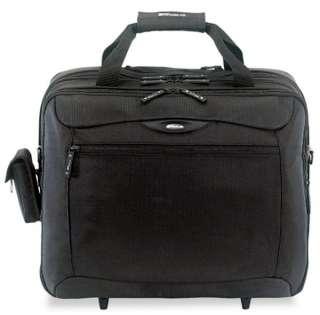 New Targus Rolling Travel Laptop Case Black Nylon Bag Briefcase 18 x