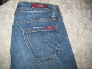 MISS VIGOSS Boot Cut Low Rise Stretch Jeans~LONG & SEXY~Size 5/6 / 30