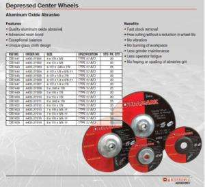 11 Pipeline Grinding Wheels right angle grinder cut off