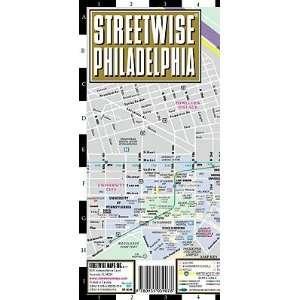 Streetwise Philadelphia Map   Laminated City Street Map of