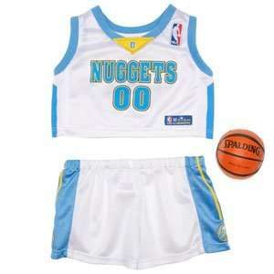 Build A Bear Workshop Denver Nuggets Uniform 3 pc. Toys