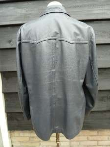 WW2 GERMAN ARMY U BOAT LEATHER NAVY DECK JACKET