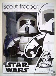 SCOUT TROOPER Star Wars Mighty Muggs Vinyl Figure 2009