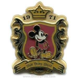 Mickey Mouse   WDW Classic 1971 Logo   Disney Pin