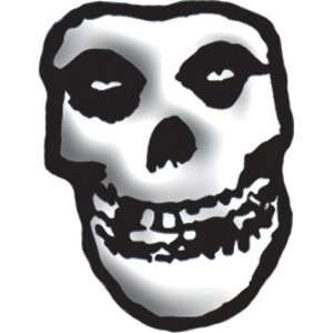 THE MISFITS FIEND SKULL CUT OUT LAPEL PIN: Home & Kitchen